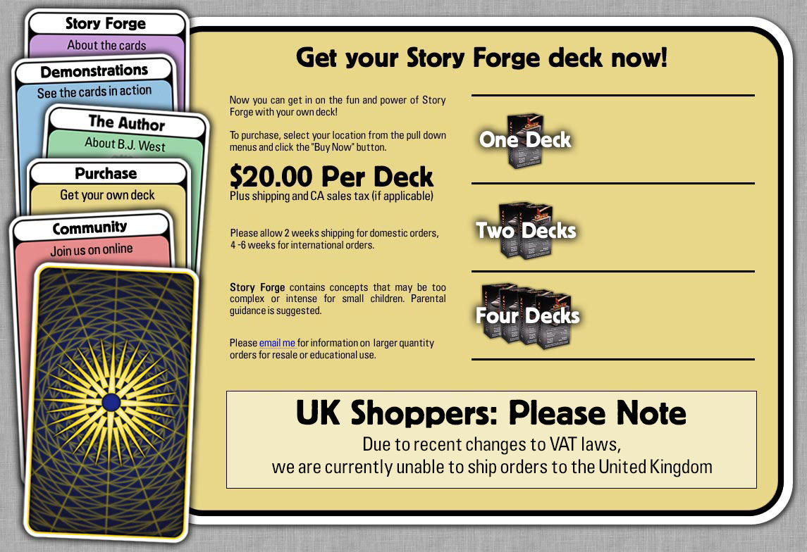 Story Forge Cards